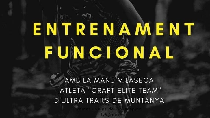 Entrenament funcional amb Manu Vilaseca, atleta del Craft Elite Team d'Ultra Trails Muntanya